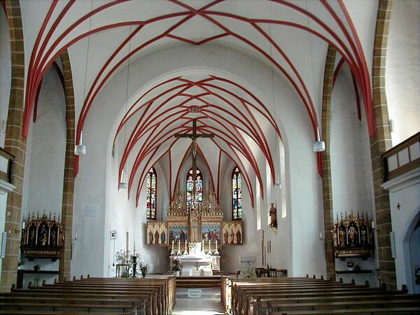 Bild vergrößern: St. Jakob Kirche Innenansicht