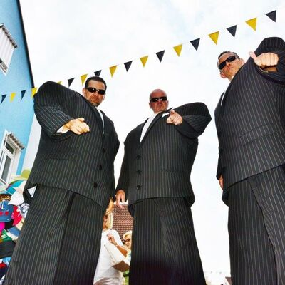 Bild vergrößern: DIE GENTLEMAN zu Gast beim Bürgerfest