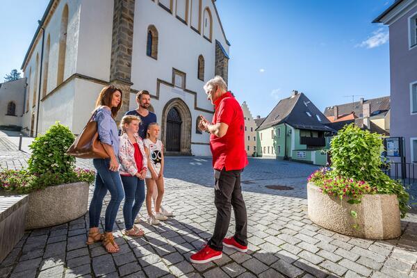 Bild vergrößern: Stadtführung Schwandorf