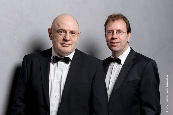 Bild vergrößern: Christoph Ewers und Michael Kuhn