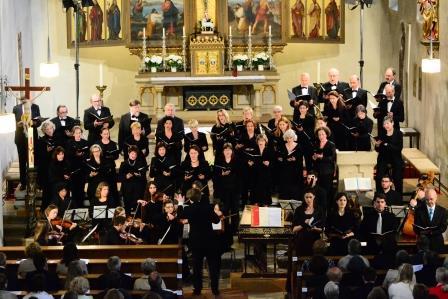 Bild vergrößern: Oratorienchor in St. Jakobskirche