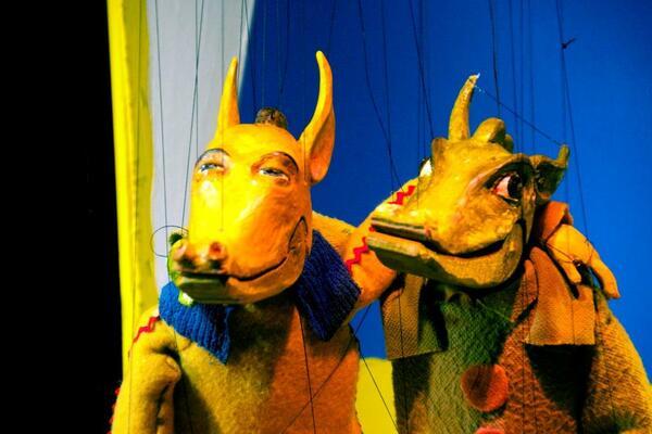 Bild vergrößern: Marionetten Zirkus Balbini