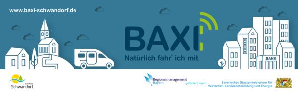 BAXI Streuartikel/Fahrpläne/Banner