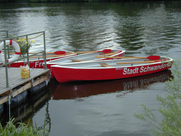 Bild vergrößern: Bootsverleih an der Naab
