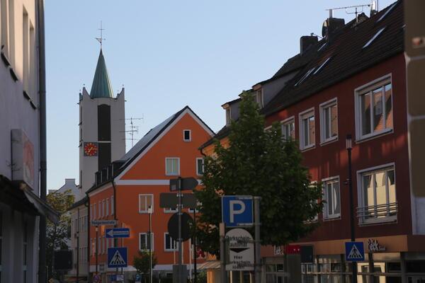 Bild vergrößern: Bahnhofstraße - Erlöserkirche