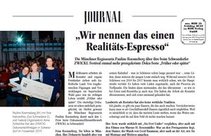 Bildvorschau des Zeitungsartikels über den Gewinner des Dokumentarfilmpreises ZETT 2019