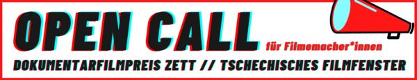 ZWICKL: OPEN CALL - Bayerischer Dokumentarfilmpreis ZETT