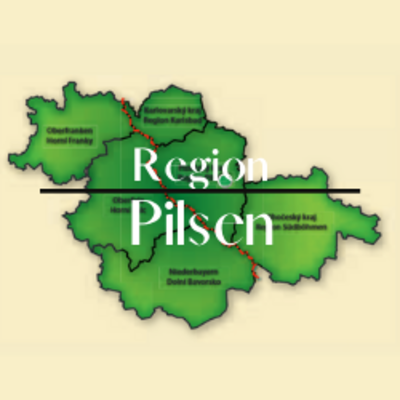 """Button zum Klicken """"Region Pilsen"""""""