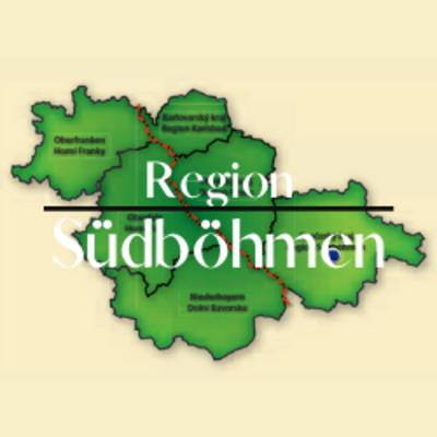 """Button zum Klicken """"Region Südböhmen"""""""
