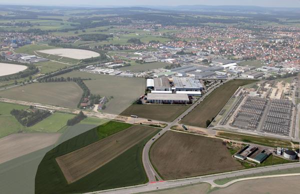 Gewerbe- und Industriegebiet Bellstraße