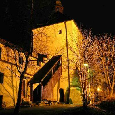 Bild vergrößern: Blasturm bei Nacht